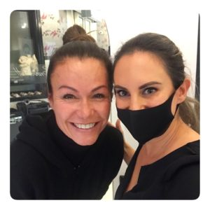 Karina Berger hat sich ihre Augenbrauen bei Brauenkult Microblading Zürich machen lassen
